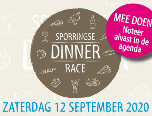 Sporringse Dinner race 2020 afgelast