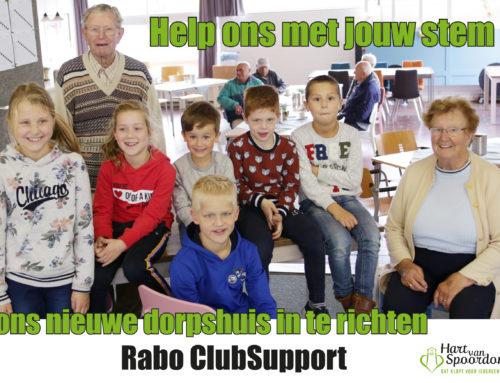 Steun ons via de Rabo Clubsupport actie!